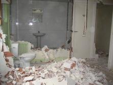 RDC couloir - salle d'eau - WC