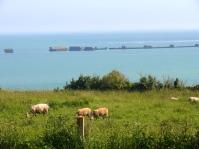 Bessin - plage d'Arromanche